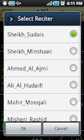 Screenshot of Yasin Pro-7Qura Audio+Meanings