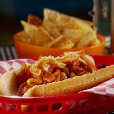 Fireside Hot Dogs with Spicy Chips