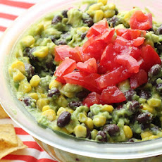 Black Bean & Corn Guacamole