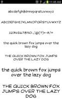 Screenshot of Write Fonts for FlipFont free