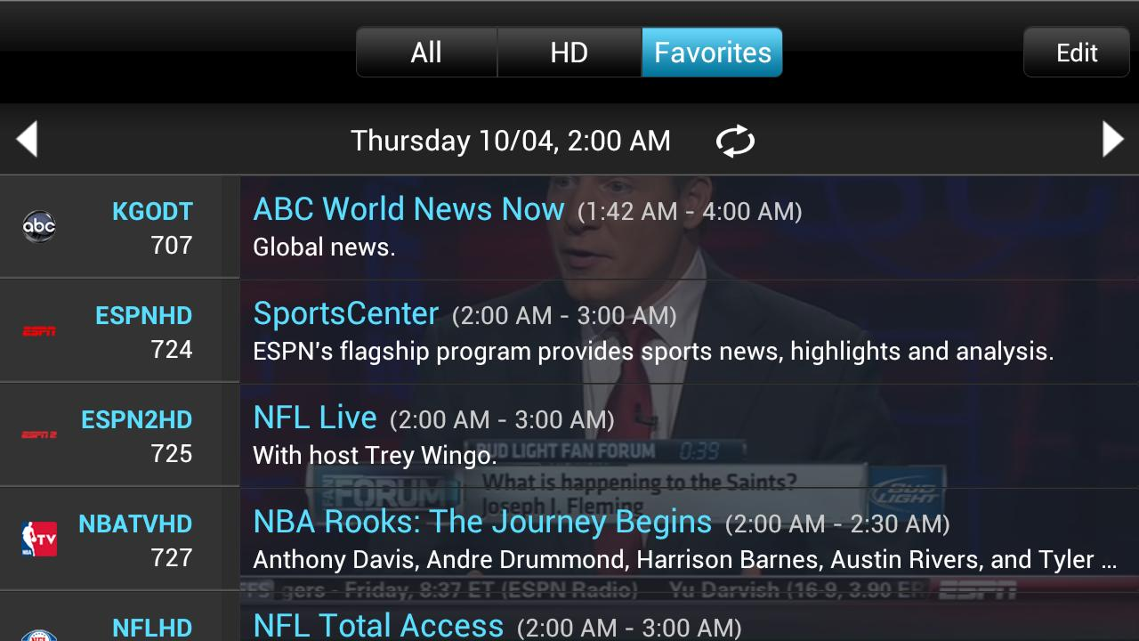 Slingplayer for Phones Screenshot 2