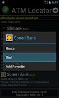 Screenshot of ATM Locator Pakistan