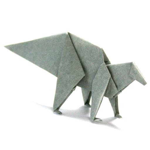 折り紙恐竜10 【ハドロサウルス】 娛樂 LOGO-玩APPs