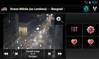 Screenshot of Kamere Srbije