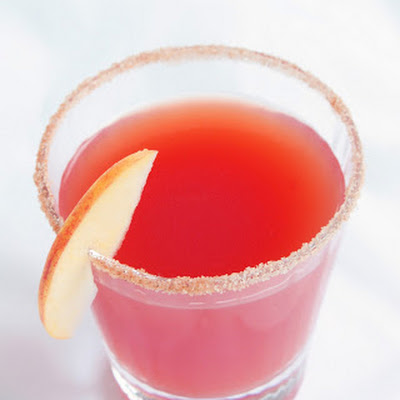 Festive Cran-Cider Cocktail