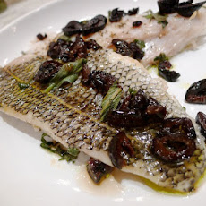 Cook the Book: Roasted Blackfish with Olives and Sage