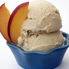 White Peach Ice Cream