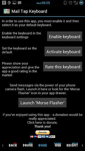 免費下載通訊APP|Mail Tap - Morse Code Keyboard app開箱文|APP開箱王