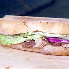 Emeril's Grilled Tuna Pan Bagnat Sandwich