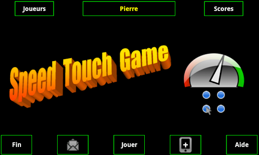 Speed Touch Game - screenshot