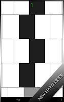 Screenshot of Piano Tiles