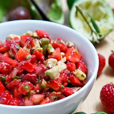 Strawberry and Avocado Salsa