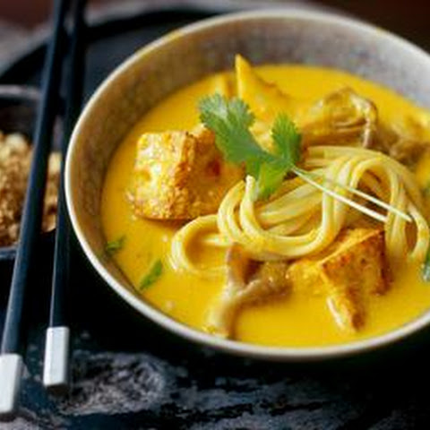 Malaysian-spiced Noodles With Tofu