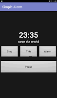 Screenshot of Simple Alarm Clock Free