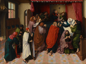 RIJKS: Meester van de Amsterdamse Dood van Maria: The Death of the Virgin 1500