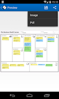 Screenshot of Business Model Canvas Startup