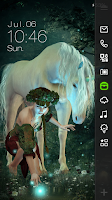 Screenshot of Unicorn Live Locker Theme
