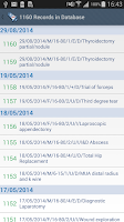 Screenshot of Anaesthesia Logbook-Log4ASLite