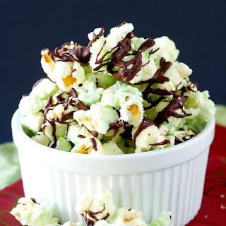 Chocolate Mint Popcorn
