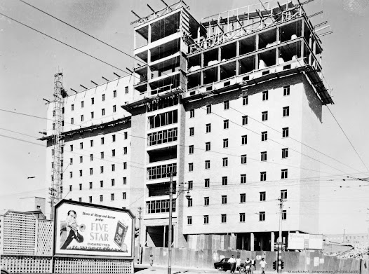 John Vorster Square under construction, 1968