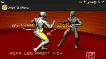 Screenshot of Fighting Techniques 2