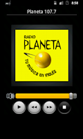 Screenshot of Radios de Peru