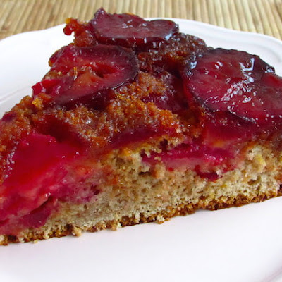 Caramelized Plum Cake