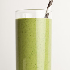 Green Peanut Butter Smoothie