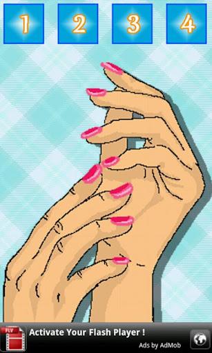 美麗的指甲設計