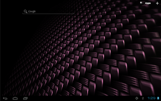 Screenshot of Carbon Fiber Free LWP