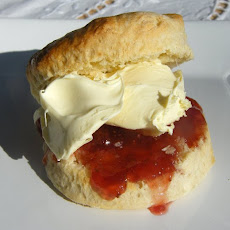 Scones with Clottted Cream & Jam