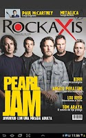 Screenshot of Revista Rockaxis