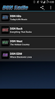 Screenshot of DSN Radio