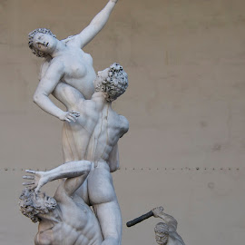 Agony by Liz Childs - Buildings & Architecture Statues & Monuments ( agony, statue, florence, italty, pain )