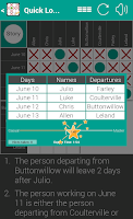 Screenshot of Quick Logic Puzzles - Preview!