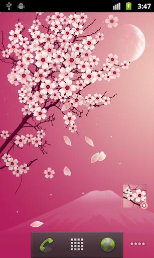 サクラPro版ライブ壁紙 Sakura