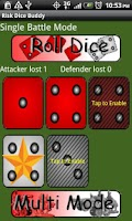 Screenshot of Risk Dice Buddy