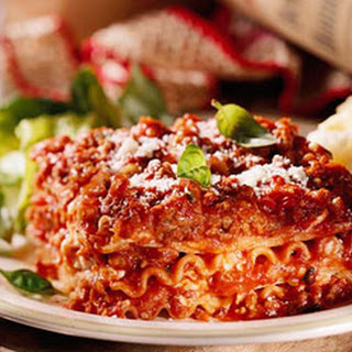 Seasoned Beef Lasagna Recipes