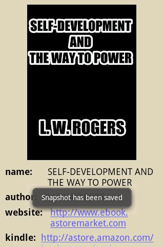 THE WAY TO POWER