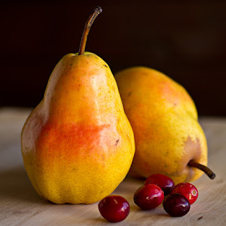 Grand Marnier-Spiked Cranberry and Pear Compote