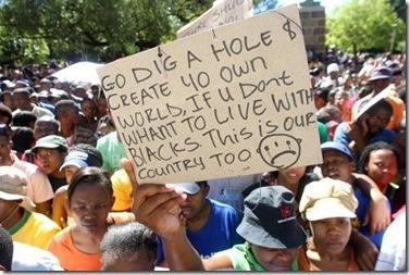 BlackSouthAfricansMessageToWhites_GoDigAHole
