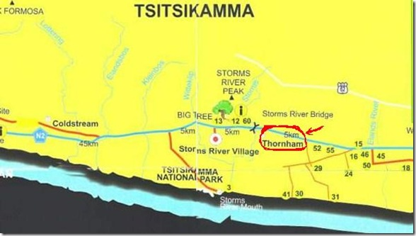 Tsitsikamma Map