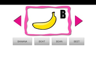 Screenshot of ABC Fruit Quiz