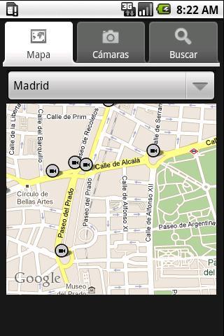 交通相機在西班牙