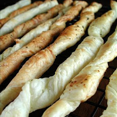Parmesan Puff Pastry Twists