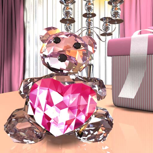 Crystal Bear LiveWall& Clock__ 個人化 App LOGO-APP試玩