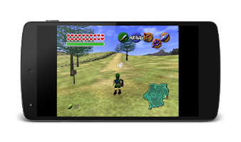 Screenshot of MegaN64 (N64 Emulator)