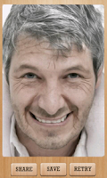 Screenshot of Agify : Age your Face
