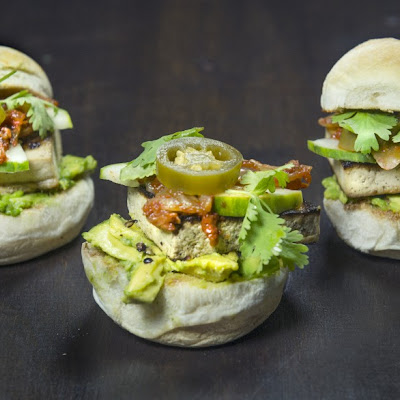 Gingery Tofu Sliders