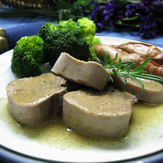Beef Tongue with Rosemary Mustard Reduction